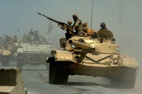 #العراق..تقدم القوات وخوض معارك مع #داعش