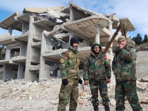 #سوريا: استعادة مواقع بدمشق و#حماة
