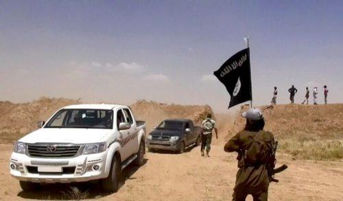 #داعش يسيطر على أجزاء من الطريق الدولي بين الأردن و#العراق