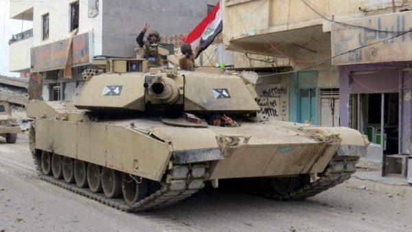القوات العراقية تتقدم  داخل #الموصل القديمة