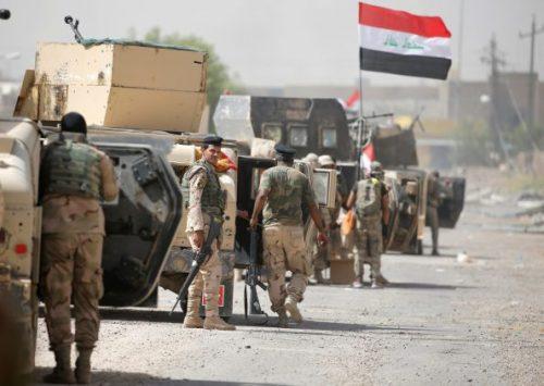 #العراق: مداهمة مواقع #داعش بالأنبار