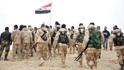 الجيش #السوري ينتشر في ريف #دمشق