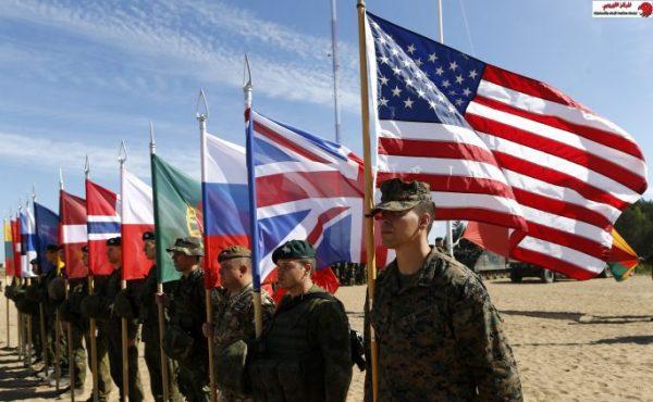 قوات #الناتو قرب حدود #روسيا