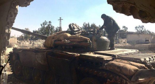 """القضاء على أفراد من """"#داعش"""" في #دير_الزور"""