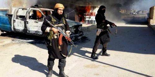 #داعش يشن هجوما على مقر قيادة الشرطة #العراقية