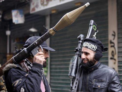 """مفاوضات بين""""#داعش"""" و""""#القاعدة""""  لتشكيل اتحاد"""
