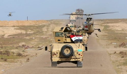 #العراق: الشرطة الاتحادية تتقدم باتجاه جامع #النوري
