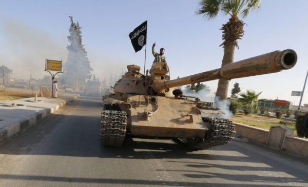 #داعش يستخدم أسلحة من عهد #هتلر