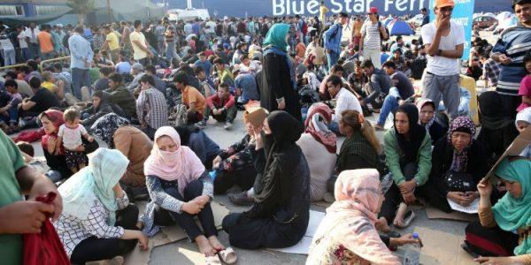 تزايد عدد #اللاجئين الذين يصلون إلى #أوروبا