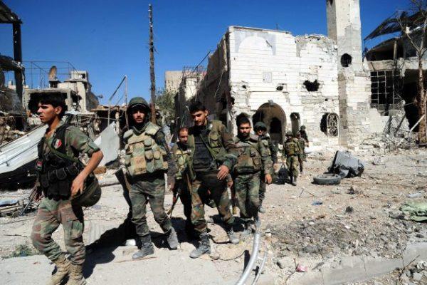 الجيش السورى يتقدم في #القابون