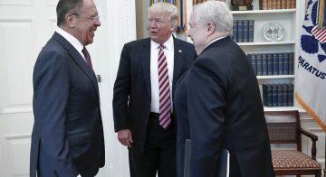"""هل كانت """"تسريبات"""" ترامب الى لافروف  مجرد ازمة مفتعلة ؟"""