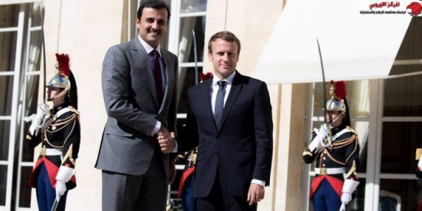 زيارة امير قطر الى فرنسا.. والبحث عن وساطة لحل الازمة