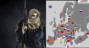 محمي: تقرير : الجماعات المتطرفة في اوروبا والدول الداعمة لها بالأسماء ومصادر تمويلها