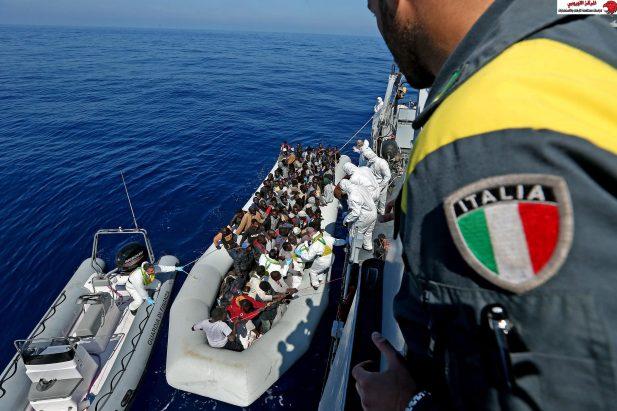 محمي: إشكالية أزمة الهجرة غير الشرعية من أفريقيا و ﺗﺪاﻋﻴﺎتها ﻋﻠﻰ أمن دول أوروبا
