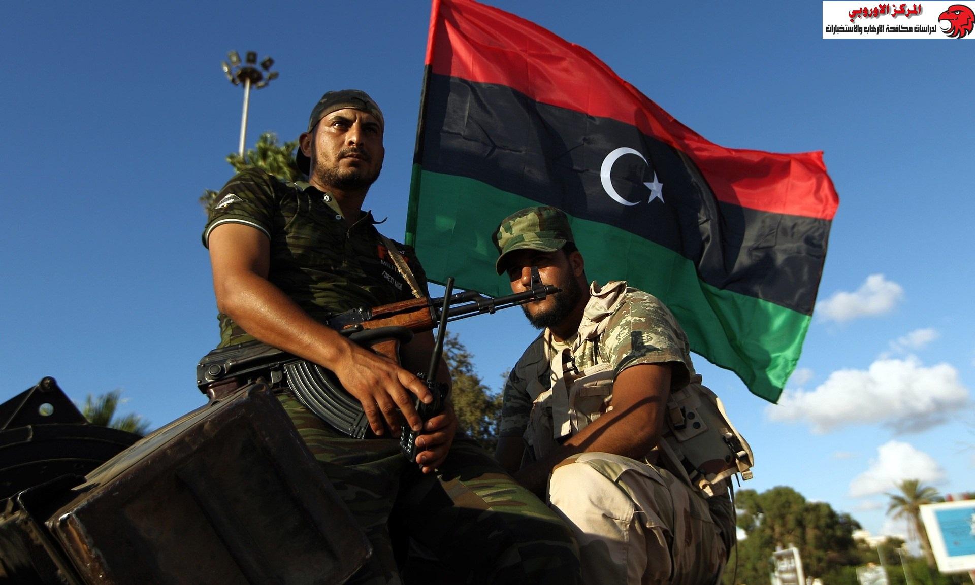 خريطة حواضن التطرف والإرهاب… ليبيا