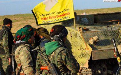 دور الأكراد في مكافحة الإرهاب بسوريا والعراق.
