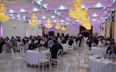 بحضور رسمي لمقاطعةNordrhein-Westfalen الألمانية والجاليات العربية ،أقام المركز الأوروبي مأدبة إفطار
