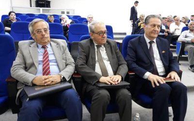 الدكتور عماد علو مستشار المركز الأوروبي يشارك في ندوة مركز النهرين للدراسات ـ العراق