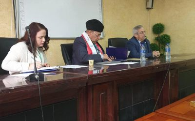 الدكتور عماد علو يشارك في اعمال المؤتمر السنوي لكلية الاداب جامعة بغداد