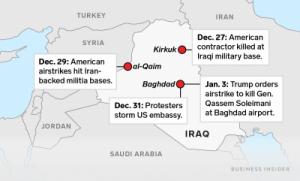 التأثير على الوجود العسكري في العراق