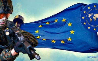 التعاون الأمني و تبادل المعلومات داخل الاتحاد الأوروبي