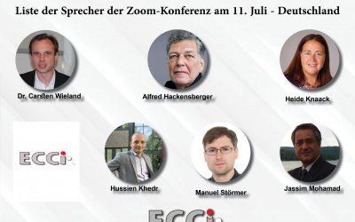 مؤتمر المركز الأوروبي حول التدخل التركي في ليبيا عبر  Zoom تابعونا