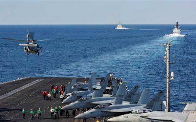 أمن دولي ـ الوجود العسكري الأمريكي و الأوروبي في مياه الخليج